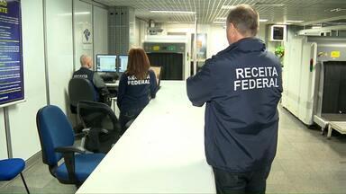 Embarque no aeroporto é monitorado por câmeras - O equipamento faz o reconhecimento do rosto dos passageiros é mais uma medida no aumento da segurança.