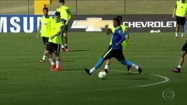 Seleção Masculina de Futebol disputa com Honduras vaga na final - Seleção Masculina de Futebol disputa com Honduras vaga na final nesta quarta (17).