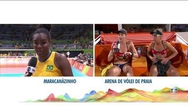Fabiana, capitã da seleção feminina brasileira de vôlei fica sem palavras após a derrota - Fabiana, capitã da seleção feminina brasileira de vôlei fica sem palavras após a derrota