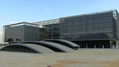 Prédio do Tribunal de Contas é inaugurado, em Goiás - Construção levou quatro meses e custou R$ 70 milhões.
