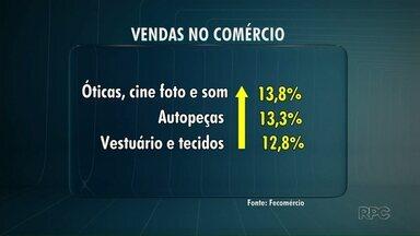 As vendas no comércio voltam a crescer em Maringá - O crescimento em junho foi de 13% em relação a maio, por isso os lojistas estão reforçando os estoques