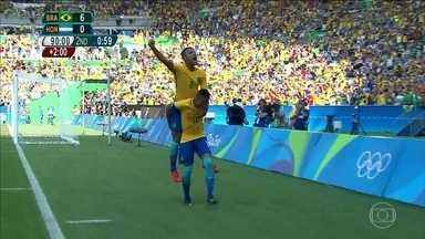 Brasil vai disputar medalha de ouro contra a Alemanha no futebol masculino - Falta apenas uma vitória para que a seleção de futebol conquiste a inédita medalha de ouro, título que virou uma obsessão dos brasileiros.