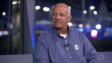 Júnior comenta o desempenho do futebol masculino no jogo contra Honduras - O Brasil venceu Honduras por 6 a 0 com um desempenho que surpreendeu e um gol instantâneo feito por Neymar. O ex-jogador e comentarista Júnior faz uma análise da partida.