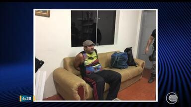 Homem é preso com mais de R$ 5 mil em notas falsas em Piripiri - Homem é preso com mais de R$ 5 mil em notas falsas em Piripiri
