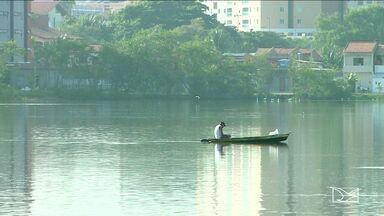 Mau cheiro incomoda moradores na Lagoa da Jansen, em São Luís - O aumento das temperaturas é uma das causas desse mau cheiro que exala nos arredores de pelo menos quatro bairros de uma área nobre da capital.