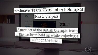 Após assalto, atletas britânicos são orientados a não sair da vila, diz jornal - Um atleta foi roubado enquanto se divertia à noite na cidade. Teria sido na madrugada de terça-feira (16). Mas o nome da vítima e o local do roubo não foram revelados.