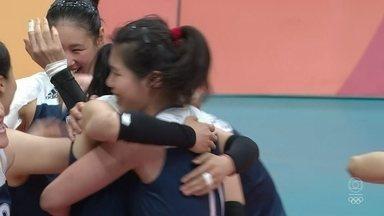 China vence a Holanda na semifinal do vôlei feminino - China vence a Holanda na semifinal do vôlei feminino