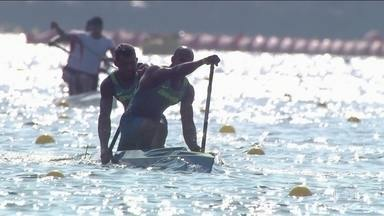Isaquias Queiroz e Erlon de Souza disputam final da canoagem neste sábado (20) - Os canoístas bainaos Isaquias Queiroz e Erlon Silva disputam mais uma final da canoagem neste sábado (20).