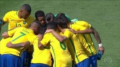 Brasil enfrenta a Alemanha na luta pelo ouro no futebol masculino - Em uma época na qual o futebol brasileiro já não tem o mesmo prestígio de antes, o time masculino tem a chance de conseguir o único título que falta.