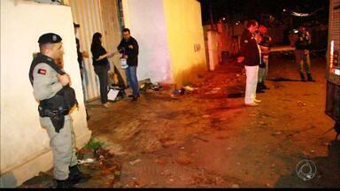 Mulher é morta a tiros e ainda atropelada no bairro José Américo - Caso aconteceu na madrugada do sábado.