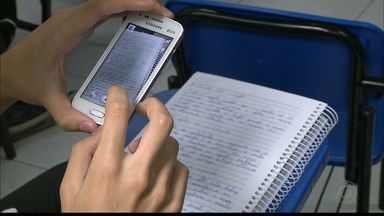Estudantes de JP usam aplicativos e vídeos da Internet para ajudar nos estudos do Enem - Aplicativos gratuitos ajudam no estudo.