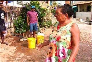 Moradores do Bairro Sossego, no Crato, enfrentam problemas de abastecimento de água - Problema deve ser solucionado até a próxima segunda-feira, segundo técnicos.