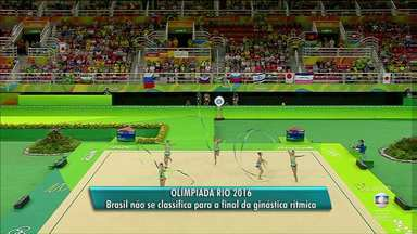 Morgana Gmach não consegue se classificar para a final dos jogos do Rio - Equipe ficou em nono lugar na classificação geral.
