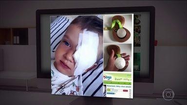 Polonês decide leiloar medalha para ajudar criança com câncer - Ele ganhou medalha de prata no lançamento do disco, no Rio de Janeiro. O atleta anunciou nas redes sociais: está leiloando a medalha para custear o tratamento de um menino polonês de três anos de idade.
