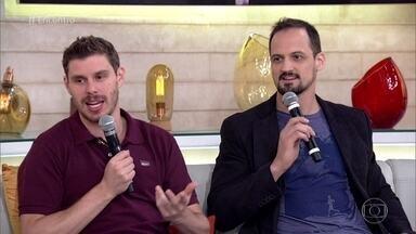 Bruninho e Lipe falam sobre a conquista do ouro pela seleção de vôlei - Atletas relembram a emoção da final e contam como foi a preparação para a Olimpíada