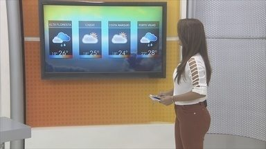 Confira a previsão do tempo para esta terça-feira (30) - Veja como será o tempo em Rondônia.
