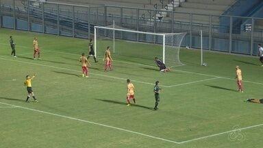 Princesa do Solimões e Manaus empatam em 0 x 0 - Jogo ocorreu no Estádio da Colina, em Manaus.