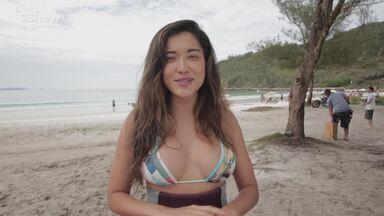 Jacqueline Sato fala da composição de seu personagen em 'Sol Nascente' - Atriz recorda viagem ao Japão e fala da personagem com sua vivência em família