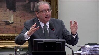 Deputado afastado Eduardo Cunha é julgado no STF por acusação de recebimento de propina - Na Câmara, Cunha aguarda decisão sobre a cassação de seu mandato. E no STF, um julgamento pela acusação de ter recebido dinheiro desviado de contratos na Petrobras. Nesta terça-feira (30) o Supremo ouviu as testemunhas de defesa.