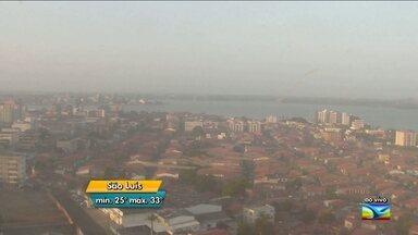 Veja como fica o tempo em todo o Maranhão, nesta quarta-feira (31) - Segundo a previsão da meteorologia, no sul do Estado e em grande parte do Maranhão o tempo fica quente e seco nesta quarta-feira (31). Na capital, aberturas de sol entre nuvens.