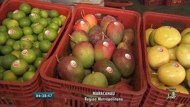Sobe preço das frutas na Ceasa; abacaxi e limão tiveram maiores aumentos - Confira o que vale e o que não vale a pena comprar na Ceasa.
