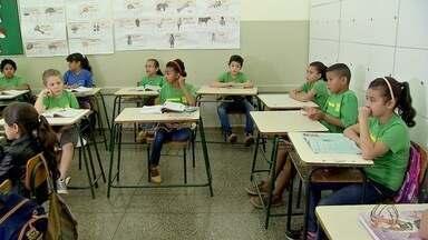 Escola de Campo Grande participa de projeto nacional contra vírus da zika - Escola de Campo Grande participa de projeto nacional contra vírus da zika