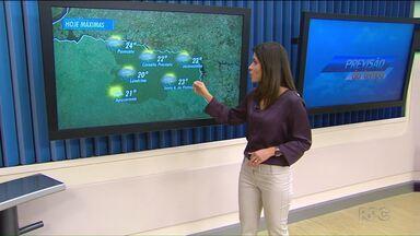 Agosto termina com temperaturas amenas em Londrina - O mês foi mais quente do que o esperado. Hoje os termômetros não devem passar dos 20 graus.
