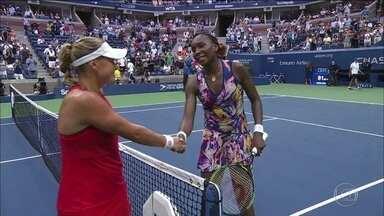 Venus Williams bate recorde no aberto de tênis dos EUA - Atleta participou de seu 72º grand slam.