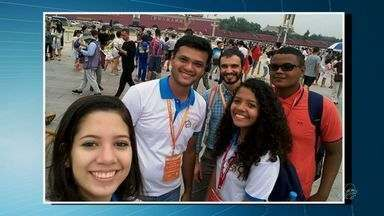 Estudantes cearenses se destacam em competições internacionais - Estudantes cearenses se destacam em competições internacionais