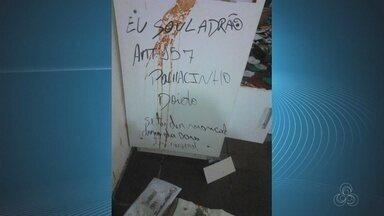 Grupo invade e furta paróquia em Tartarugalzinho, no Amapá - Casa paroquial é furtada e suspeitos deixam aviso: 'nem Bope põe a mão'.