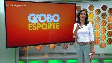 Globo Esporte RS - Bloco 1 - 31/08 - Assista ao vídeo.