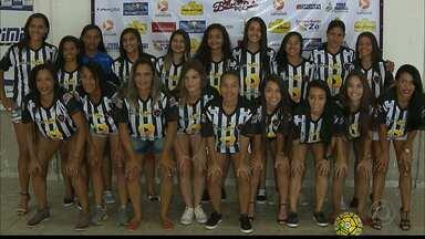 Veja quem é a musa do time feminino do Botafogo-PB - Belas encaram a passarela antes de jogo contra o Náutico pela Copa do Brasil Feminina