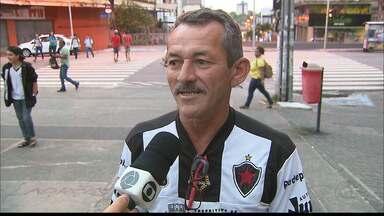Torcedores do Botafogo-PB vivem expectativa para jogo contra o Palmeiras - Partida de ida das oitavas de final da Copa do Brasil será nesta quarta-feira, em São Paulo