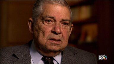 Morre o ex-governador Jayme Canet Jr. aos 91 anos - Ele foi eleito em 1974 pela Assembleia Legislativa do Paraná durante a ditadura militar.