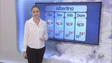 Confira a previsão do tempo para esta quarta-feira (1º) no Sul de Minas - Confira a previsão do tempo para esta quarta-feira (1º) no Sul de Minas