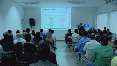 Empresários apresentam projeto de transporte aéreo de carga no aeroporto de Varginha (MG) - Empresários apresentam projeto de transporte aéreo de carga no aeroporto de Varginha (MG)