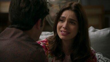 Shirlei abre o coração para Felipe - Ela confessa que nunca imaginou poder conquistar alguém como Felipe