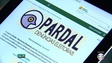 Aplicativo 'Pardal' recebe denúncias de propaganda eleitoral - Software substitui o serviço 'Denúncia Online', criado pelo TRE em PE.