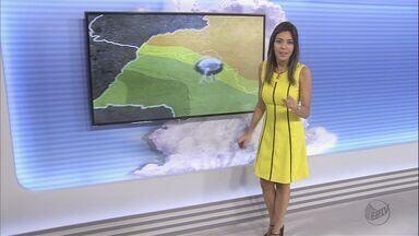 Confira a previsão do tempo para este domingo (4) na região de Ribeirão Preto, SP - Meteorologistas preveem temperatura máxima de 34ºC.
