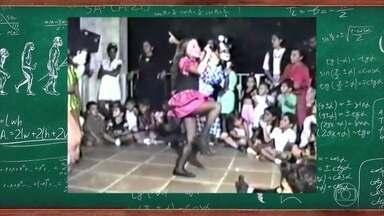 Confira o vídeo exclusivo de Claudia Leitte dançando na infância - Assista o vídeo exclusivo no palco do Tamanho Família