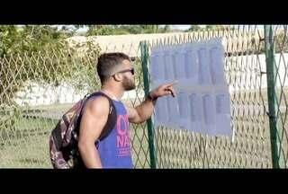 Candidatos disputam vaga para almoxarife em concurso da Prefeitura de São João da Barra - Prova foi neste domingo (4).