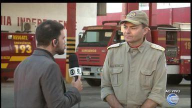Corpo de Bombeiros orienta população contra incêndio em residências - Corpo de Bombeiros orienta população contra incêndio em residências