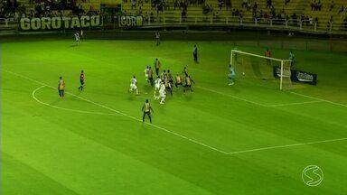 Voltaço vence o Flu de Feira por 2 a 1 e garante vaga na Série C do Brasileiro - Partida aconteceu no sábado (3) no Raulino de Oliveira, pelas quartas de final da Série D.