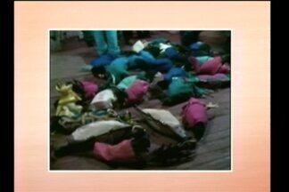 Flagrante por rinha de galo em Três de Maio, RS - A prática ilegal é considerada crime ambiental.