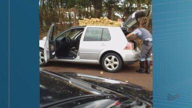 Homem é preso com 100 quilos de maconha após perseguição em Ribeirão Preto, SP - Polícia fazia patrulhamento na Avenida do Brasil e desconfiou de placa de carro.