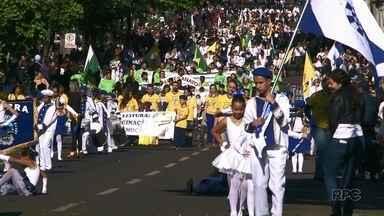 Veja como foi o desfile cívico na região Noroeste - Cianorte, Umuarama e Paranavaí comemoraram o Dia da Independência