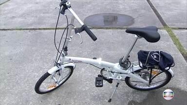 Especialistas dão dicas para quem quer andar de skate e bicicleta com segurança - É importante usar capacete para evitar aciendentes.