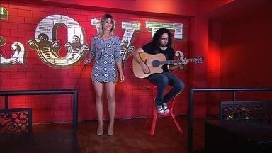 Liz Maia disputa a 2ª semifinal do concurso 'Novos Talentos da Música Sertaneja' - Votação começou neste sábado (10).