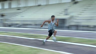 Atleta capixaba do salto em distância quer ir para as olimpíadas de Tóquio - Marcos treina em São Paulo e é campeão da Copa Brasil.