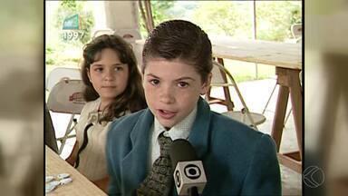 Memória MGTV relembra filme Menino Maluquinho gravado em São José das Três Ilhas - Há quase 20 anos atrás, a cidade foi cenário das produções do filme.